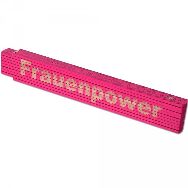 Zollstock_Pink_Frauenpower_1